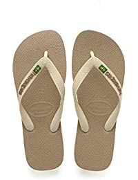 93ee103839a4b7 Amazon.co.uk  Beige - Flip Flops   Thongs   Men s Shoes  Shoes   Bags