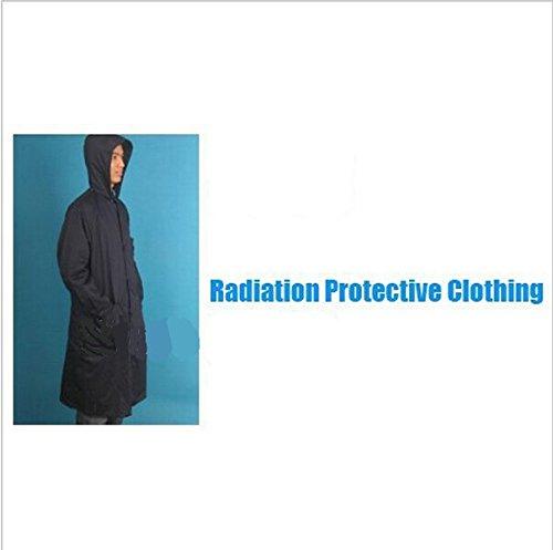 Gowe Strahlung Schutzkleidung mit Metall fibrose Leitfähige Gewebe 2Schichten Schutz Anzug - 2-schicht-anzug