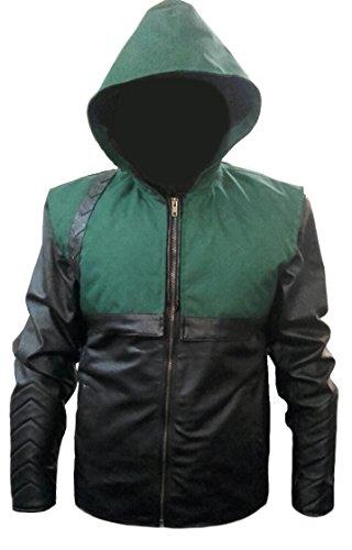 classyak Herren Fashion Leder Jacke Arrow Sheep Black