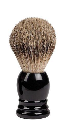 Croll & Denecke 60901 Silver-Tip Shaving Brush with Real Badger Hair