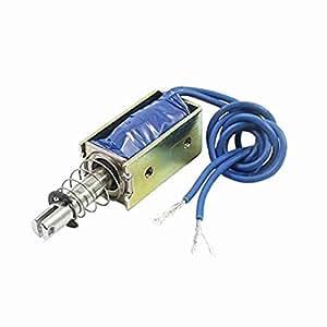 TTcity DC6V 40g Kraft 10mm Stroke Linear Motion Ziehen Solenoid-Elektromagneten