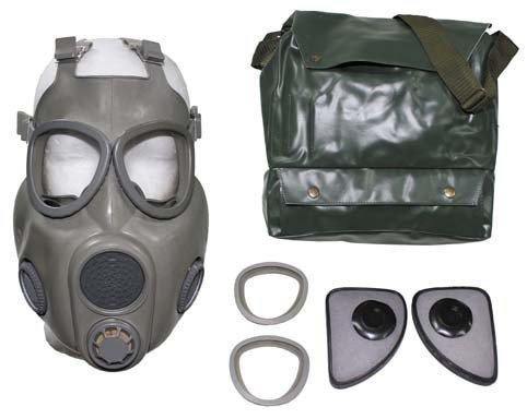 """Max Fuchs CZ máscara de Gas """" M 25,4 cm gris como nuevo (venta solo en EU)"""