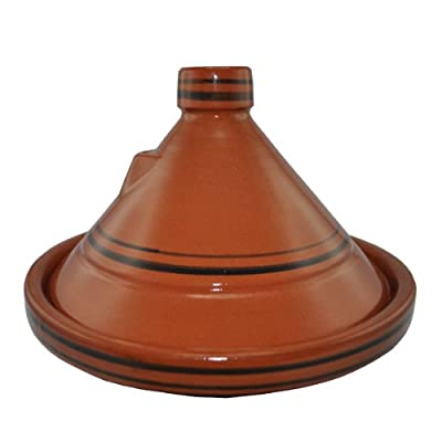Authentic Tagine 34cm 6 People - Imperfect - With Heat Diffuser by Naturally Med