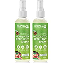 Bodyguard Natural Anti Mosquito Spray - 100 ml (Pack of 2)