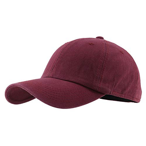 Gisdanchz Basecap Baseball Cap Herren Profile Design Sommer Baseballcap Golf Männer Baseballkappe Damen Mütze Kappe Base Cap Men Dad Hat Women Polo Hats Rot