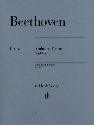 Beethoven : Andante en Fa majeur woo 57 ...