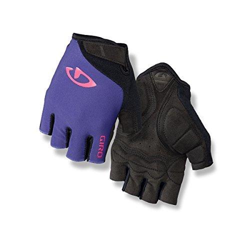 Giro Damen JAG\'ETTE Fahrradhandschuhe, Ultraviolet/Bright pink, L