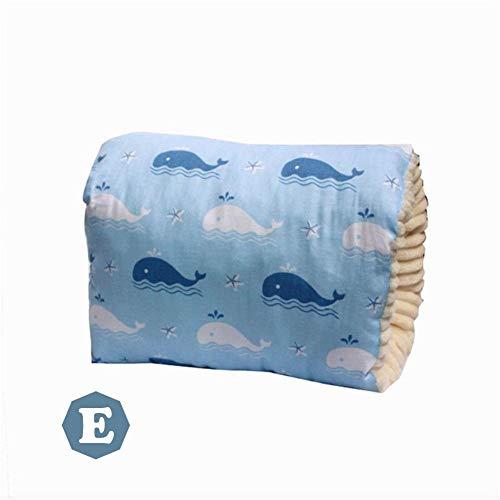 Nursing Pillow Cover, Nursing Pillow Breastfeeding Slipcover for Breastfeeding Pillows Cotton Plus Velvet Thickening Soft Comfortable Bottle Feeding Pillow, Slip-on Breastfeeding Arm Pillow, Baby Nurs