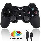 Controlador PS3, Controlador de Juegos inalámbricos, Controlador de Juego de Doble vibración PS3 con actualización SIXAXIS y Joystick de Alta precisión para Playstation 3
