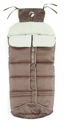 jane, Sacco termico per passeggino Basic, Grigio (Stone)