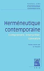 Textes clés d'herméneutique contemporaine