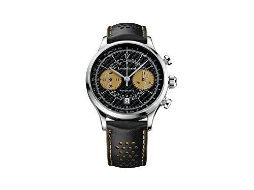 Mens Louis Erard 1931 Vintage Telemeter Limited Edition Automatic Chronograph Watch 71245AA22.BVA43