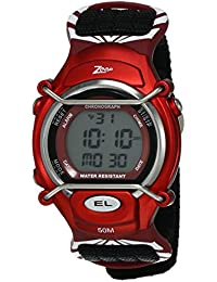 Zoop Digital Grey Dial Children's Watch-NKC3001PV03