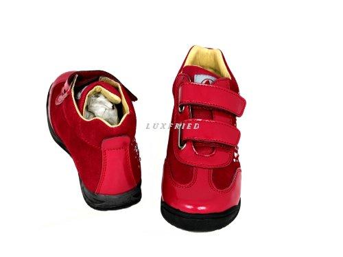 NATURINO Kinderschuhe Maedchen Schuhe Shoe Sneakers 4276 Rot