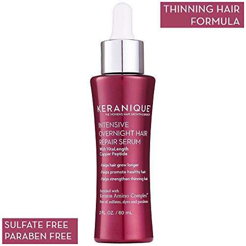 Keranique Intensive Overnight Hair Serum, 2 Ounce by Keranique -