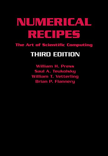 Numerical Recipes 3rd Edition 3rd Edition Hardback: The Art of Scientific Computing