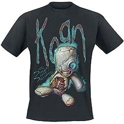 Korn New Doll Camiseta Negro