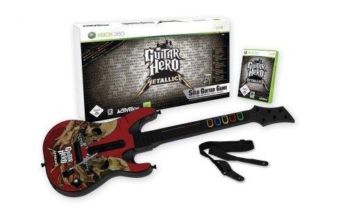Guitar Hero Metallica + guitare