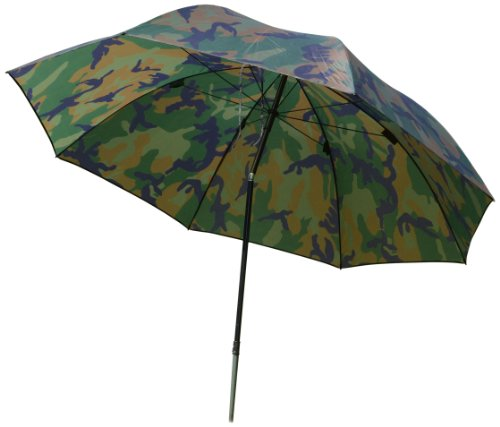 Zebco Erwachsene Schirme Angelschirm 2.20m Camou, Mehrfarbig, 9973221