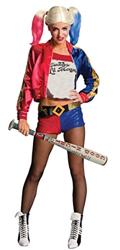 Suicide Squad aufblasbarer Baseballschläger Harley Quinn Karneval