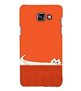 EPICCASE Stretchy cat Mobile Back Case Cover For Samsung Galaxy A7 (2016) (Designer Case)