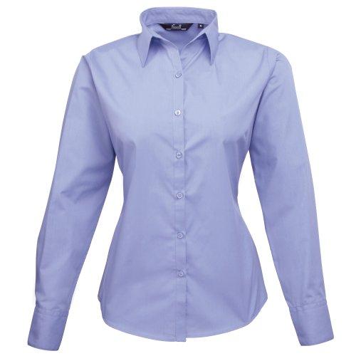 Premier - Camicia Maniche Lunghe - Donna Blue (Mid Blue)