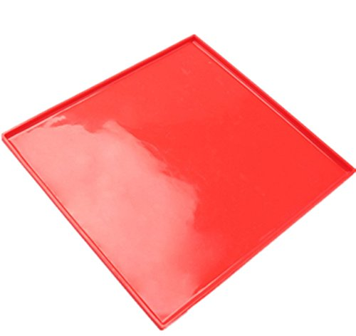 Tapis Roulant in silicone tappetino di cottura foglio per pasticceria Utensile antiaderente rosso