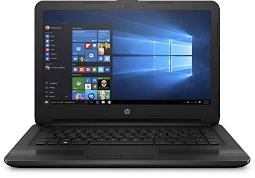 HP 14 cm0123au 14-inch Laptop (9th Gen A4-9125/4GB/1TB HDD/Windows 10/AMD Radeon R3 Graphics), Jet Black