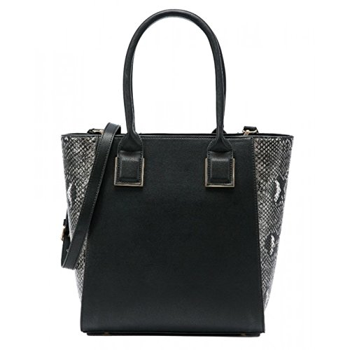 Craze London, Borsa tote donna Black
