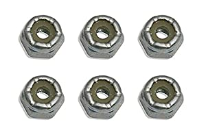 Team Associated ae6242-Steel locknuts, 4-40