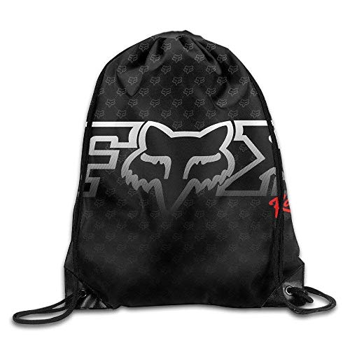 Liumiang Turnbeutel,Sporttaschen,Eco-Friendly Pirnt Fox Racing Exotic Drawstring Backpacks/Bags -