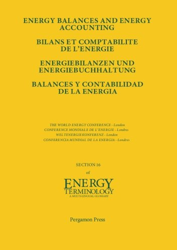 Energy Balances and Energy Accounting: Energiebilanzen und Energiebuchhaltung: Conference Proceedings por Unknown Author Unknown Author
