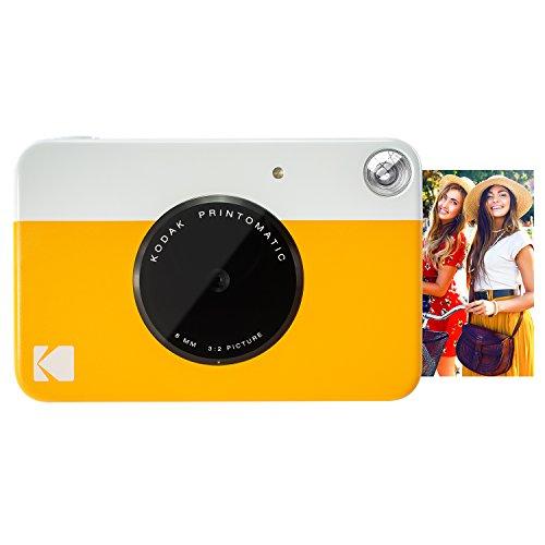 "Kodak Printomatic Sofortbildkamera, Druck auf ZINK 2x3 ""Sticky-Backed Paper - Gelb"