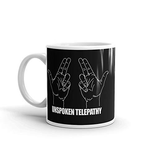 Meta Cortex Spaced Unspoken Telepathy TV Series Quote Becher Tasse - Fuzz-t-shirt Hot