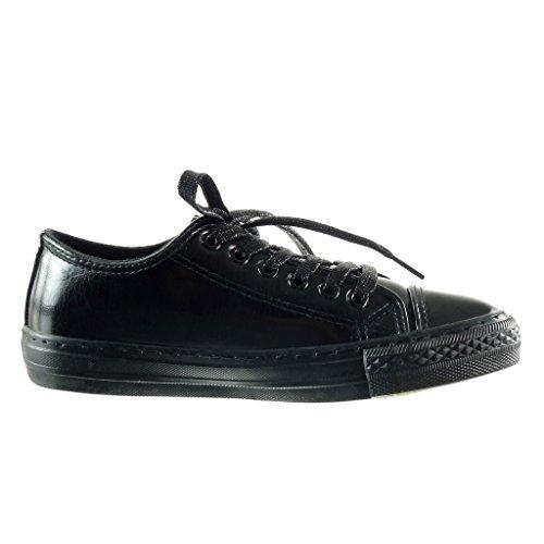Venta Barata Excelente Sneakers bianche con cerniera per donna Angkorly Estilo De La Manera Del Descuento boWk70