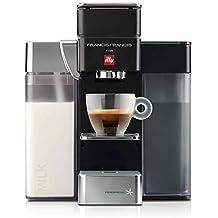 FrancisFrancis. Y5Milk Espresso + Coffee (S + C) ipere mediaespresso, Negro