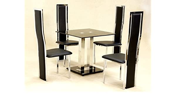 Trinity Dining Table Small With 4 Trinity Chairs Amazon Co Uk Kitchen Home