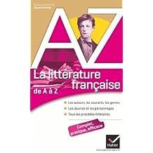 De A a Z: LA Litterature Francaise