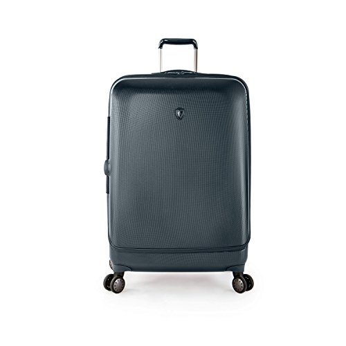 ... 50% SALE ... PREMIUM DESIGNER Hartschalen Koffer - Heys Crown Smart Portal Blau Trolley mit 4 Rollen Medium