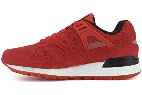 Saucony Originals Grid Sd Premium, Chaussures Homme Rouge
