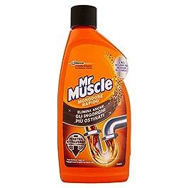 Mister Muscle Disgorgante Gel per Tubi e Scarichi – 500 ml