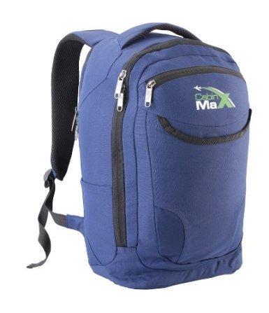 Cabin Max - Sac à dos de tous les jours avec pochette matelassée pour netbook, iPad, tablette, liseuse électronique (Bleu)