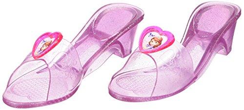 Rubie's Offizielle Jelly-Schuhe, Design: Sofia die Erste - Auf einmal Prinzessin, Kinder-Kostüm, Einheitsgröße -
