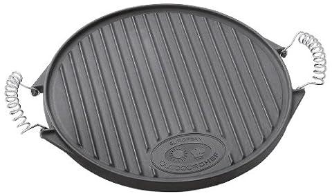 Outdoorchef Plaque en fonte taille moyenne compatible avec barbecue 480/570
