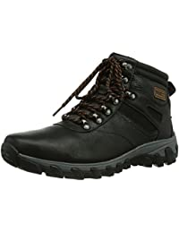 Gentlemans Cap Mid, Mens Combat Boots Rockport