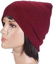 Red Beanie & Bobble Hat For Unisex