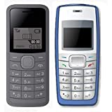 I KALL 1.44 Inch Feature Phone Combo - K73 (Grey) And K72 (Blue)