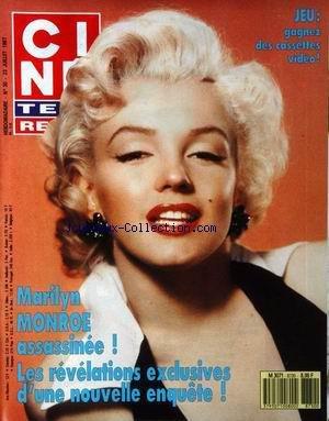 CINE TELE REVUE [No 30] du 23/07/1987 - MARILYN MONROE ASSASSINEE - REVELATIONS