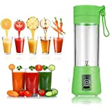 Tagore Mini Personal Charge Pattern Juicer Smoothie Blender Fruit Vegetable Juicer Blender Smoothie Shake N Take