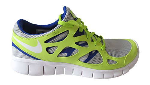 Nike Free Run 2 NSW Herren Sneaker neutral grey white hyper blue 014